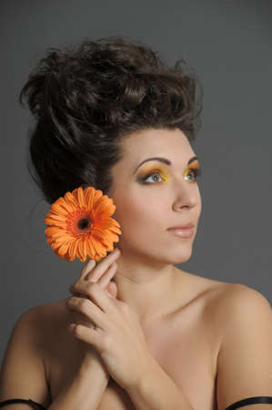 Flower Woman Stock Photo - 13135036