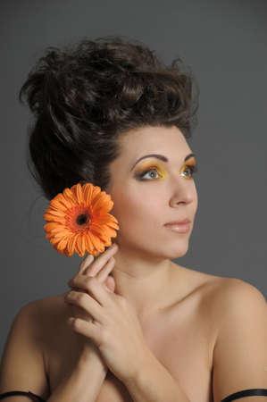 Flower Woman Stock Photo - 13135036