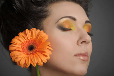 Flower Woman Stock Photo - 13135076