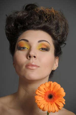 Flower Woman Stock Photo - 13135038
