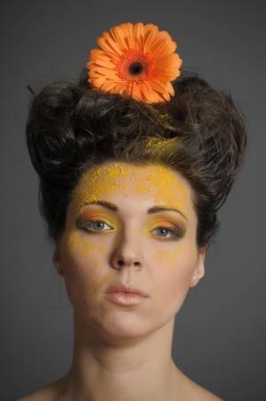 Flower Woman Stock Photo - 13135279