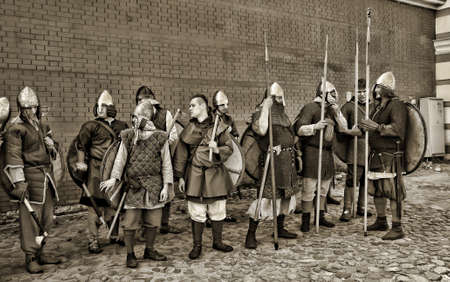 svcandinavians: festival Legend of the Norwegian Vikings in the Peter and Paul Fortress territory in St. Petersburg