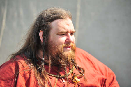 festival 'Legend of the Norwegian Vikings' in the Peter and Paul Fortress territory in St. Petersburg