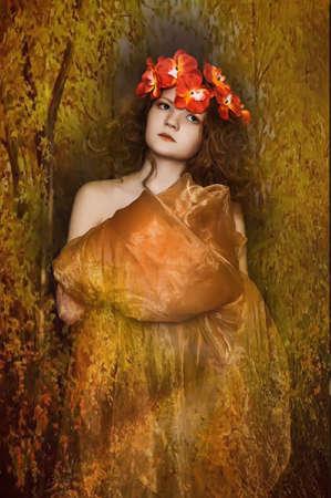 autumn fairy Stock Photo - 13444906
