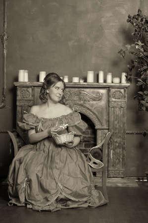 dama medieval photo