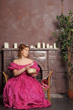 vestidos de epoca: dama medieval