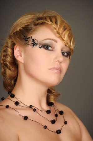 beautiful blonde portrait Stock Photo - 13503025