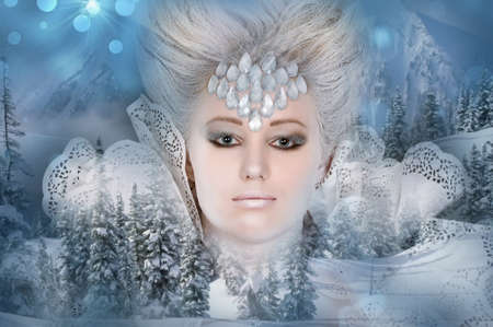 Snow queen Stock Photo - 13501129