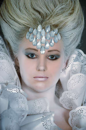 Snow queen Stock Photo - 13501110