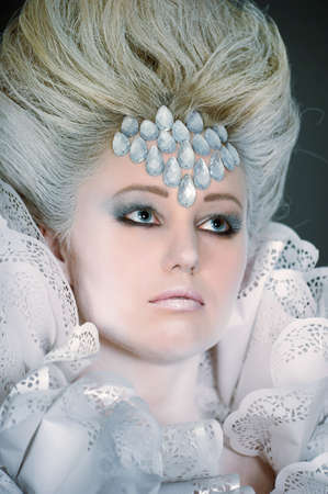 Snow queen Stock Photo - 13501134
