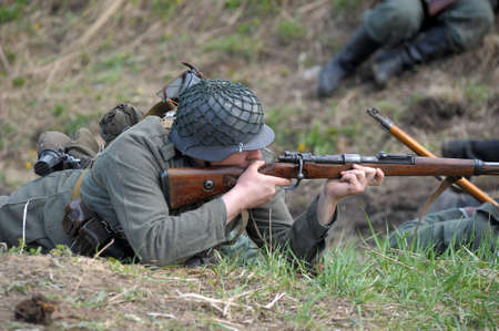The scenario of military and historical reconstruction Last fight is devoted to battles on May 12-13, 1945 with the German parts which are breaking through from Prague towards allied forces.