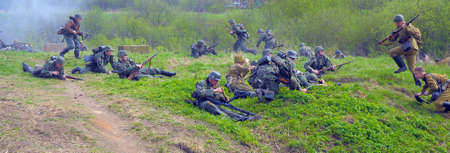 The scenario of military and historical reconstruction