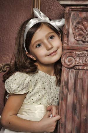 nude little girls: Ретро портрет маленькой девочки