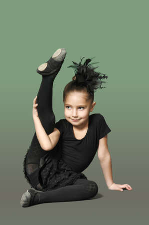 Ni�a bailarina photo
