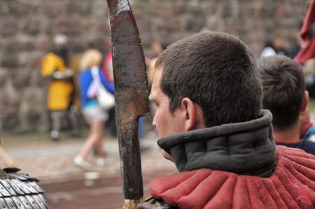 medieval tournament, Vyborg, Russia