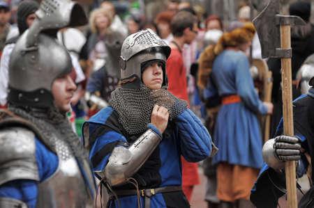 medieval tournament, Vyborg, Russia Stock Photo - 19852027