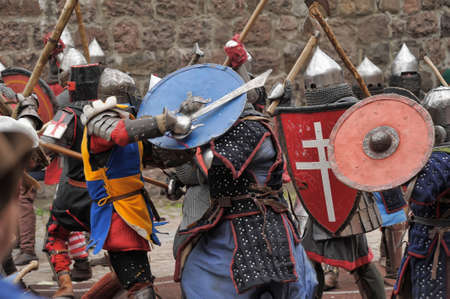 real renaissance: in Vyborg Castle, the annual International Festival of Military History connoisseurs and lovers of the Middle Ages, Knight