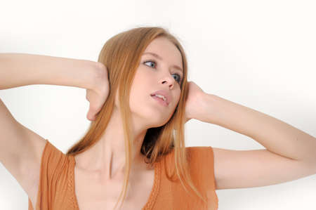 I do not want to hear anything Stock Photo - 13728299