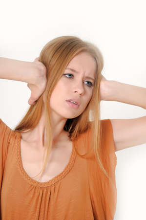 I do not want to hear anything Stock Photo - 13728304