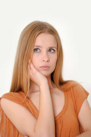 Unhappy woman  Stock Photo - 13728230