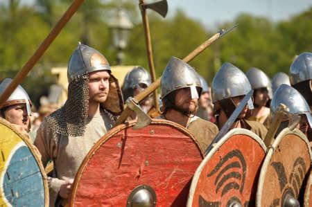 legends: Historical Festival Legends of the Norwegian Viking, Russia, St. Petersburg Editorial