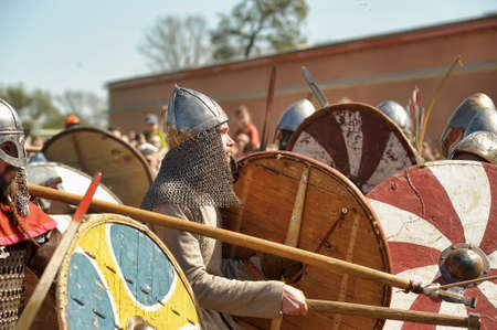 Historical Festival 'Legends of the Norwegian Viking,' Russia, St. Petersburg