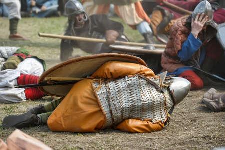 svcandinavians: Historical Festival Legends of the Norwegian Viking, Russia, St. Petersburg Editorial