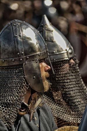 Vikings: Historical Festival Legends of the Norwegian Viking, Russia, St. Petersburg Editorial