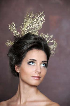 Luxurious glamorous models photo
