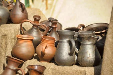 Handmade ceramic pottery Stock Photo - 13909001