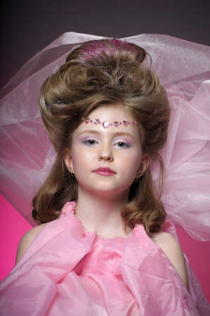 Beautiful little girl in princess dress Stock Photo - 15035249