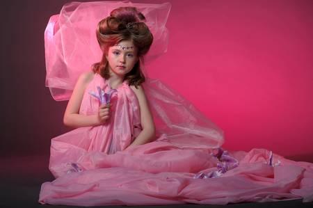 Beautiful little girl in princess dress Stock Photo - 15035020