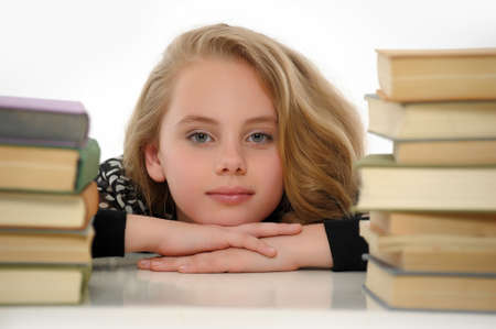female student with books Stock Photo - 14330877
