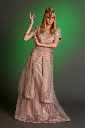 girl in eastern dress Stock Photo - 13929673