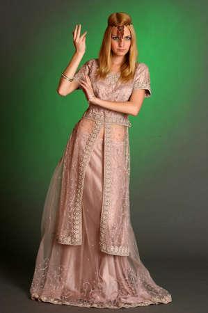 girl in eastern dress Stock Photo - 13929666