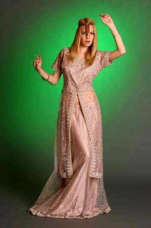 girl in eastern dress Stock Photo - 13929664