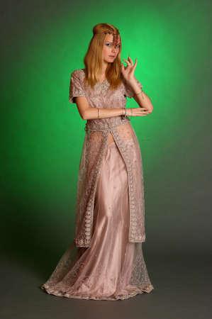 girl in eastern dress Stock Photo - 13929682