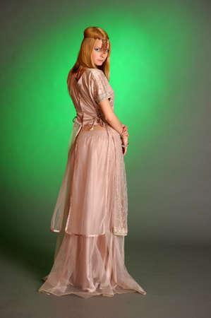 girl in eastern dress Stock Photo - 13929704