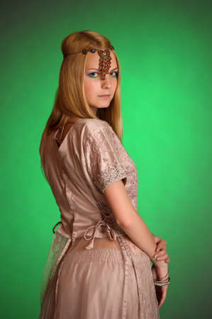 girl in eastern dress Stock Photo - 13929723
