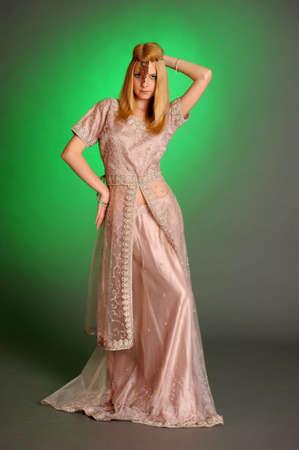 girl in eastern dress Stock Photo - 13929710