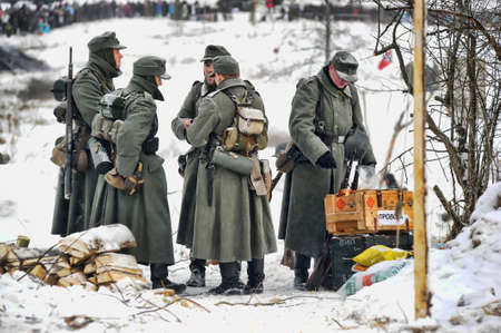 solders: Reconstruction of a major military operation of the Leningrad Front - The January Thunder,  lifting of the blockade of Leningrad.