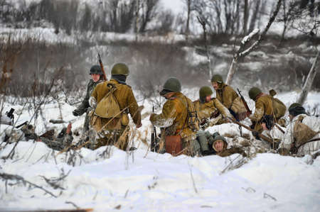 liquidate: Reconstruction of a major military operation of the Leningrad Front - The January Thunder,  lifting of the blockade of Leningrad.