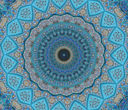 isfahan: blue east ornament