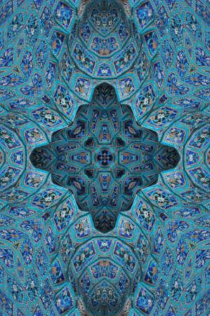 blue east ornament
