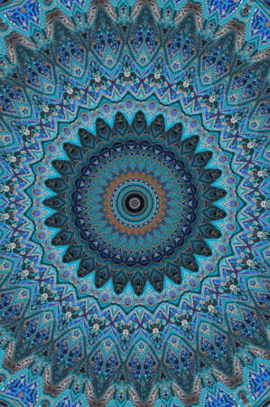 blue east ornament Stock Photo - 14145654