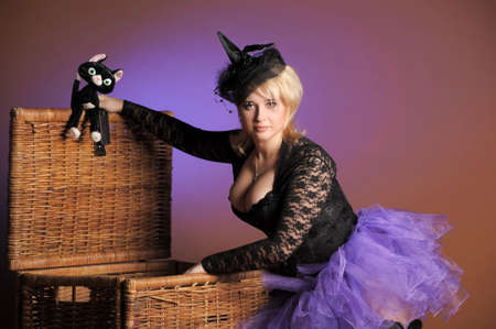 Halloween Witch Stock Photo - 14165792