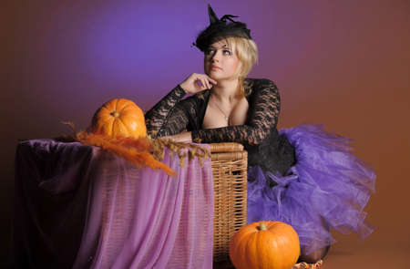 Halloween Witch  Stock Photo - 14165759
