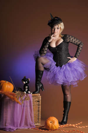 Sorci�re de Halloween photo