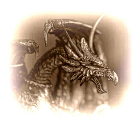 dragon figurine photo