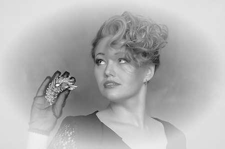 Retro jewelry woman Stock Photo - 14187095
